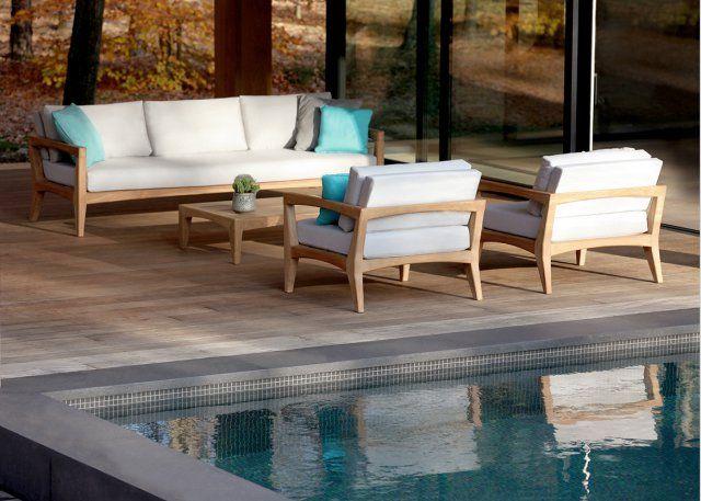 Salon de jardin design Zenhit - Royal Botania