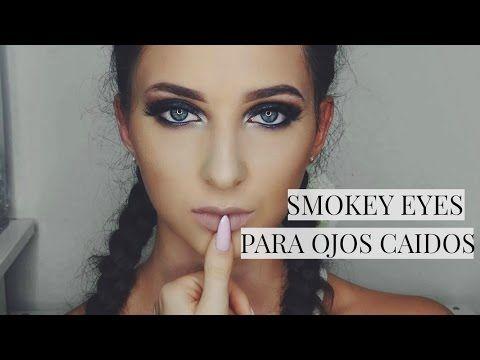 COMO DELINEAR PARPADOS CAIDOS!? // Aprende a maquillarte - YouTube