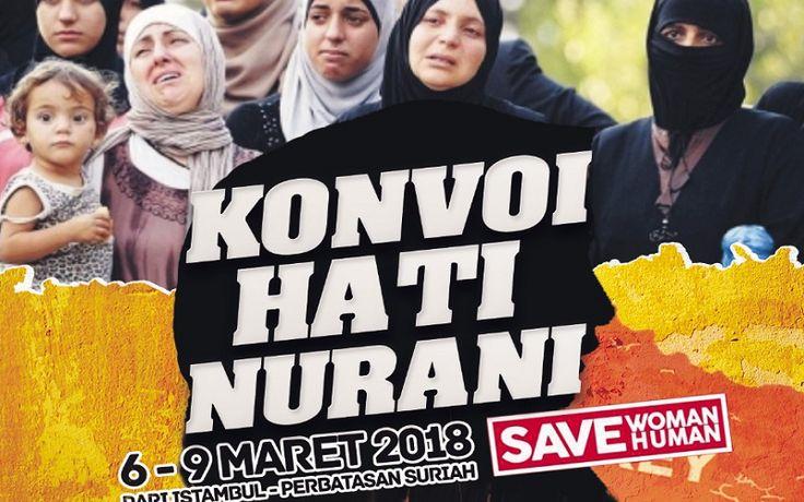 Selamatkan Perempuan di Suriah, Save Woman Human Gelar Konvoi Hati Nurani