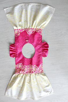 Little Girls Flutter sleeve dress sewing tutorial
