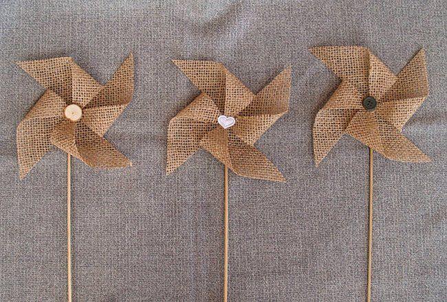 CUTE FOR THE TABLES   Daydreams ♥  ♥  ♥ LIKE US ON FB: www.facebook.com/confettidaydreams  ♥  ♥  ♥ #Wedding #WeddingTrends #Pinwheels