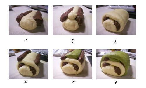 Bambino!!: How to roll Panda Bread