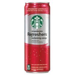 Starbucks Refreshers Strawberry Lemonade - 12oz (12 Pack)