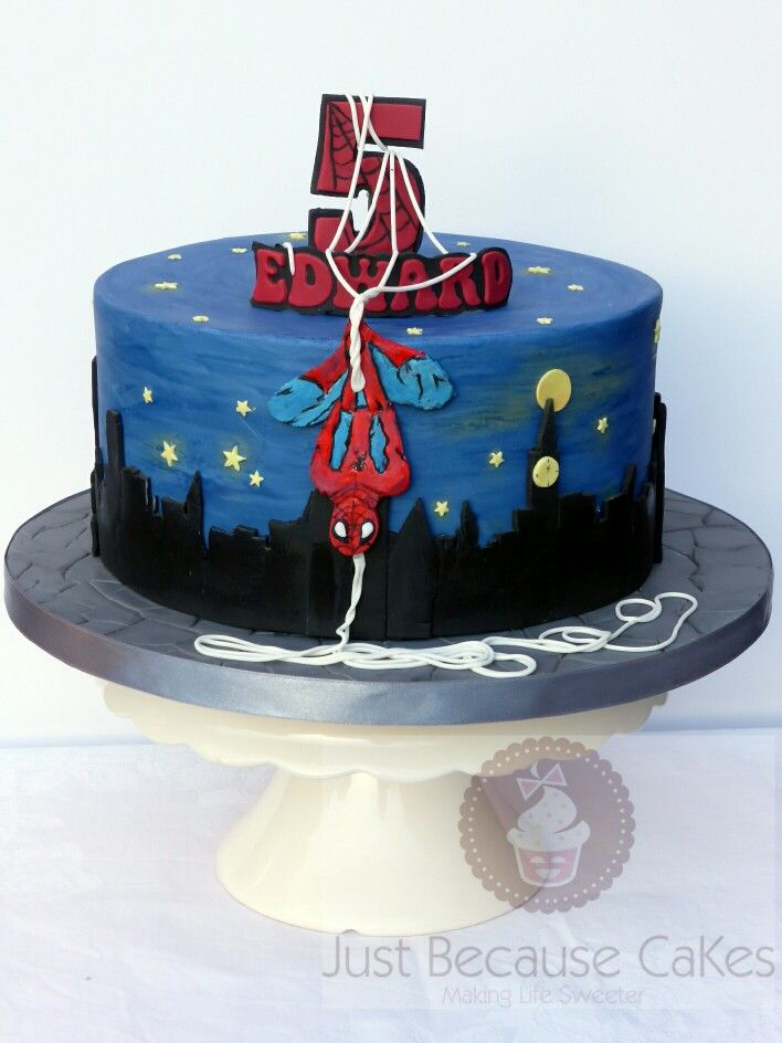 Best Just Because CaKes Images On Pinterest St Birthday - 5th birthday cake boy