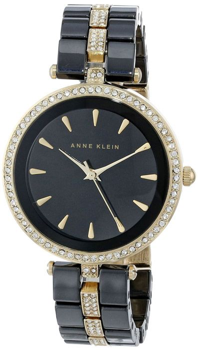 Zegarek damski Anne Klein AK-1444BKGB - sklep internetowy www.zegarek.net