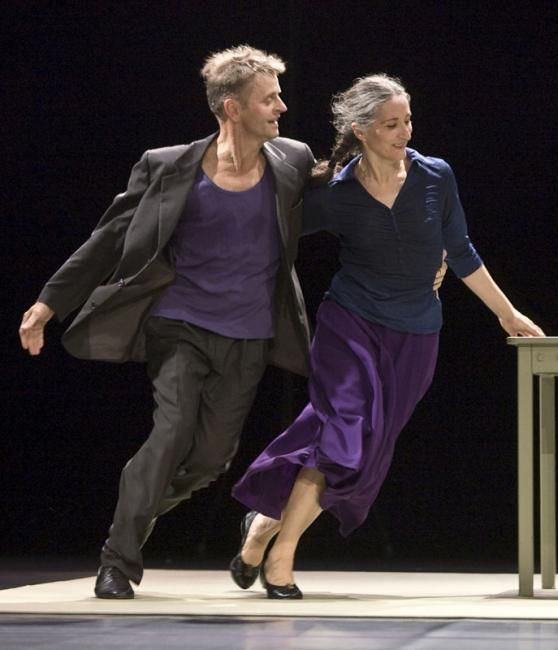 Mikhail Baryshnikov & Ana Laguna Choreographer :: Fabulous at any age! :: #dance