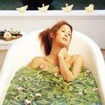 Balnéo-phytothérapie ou bain aux herbes officinales