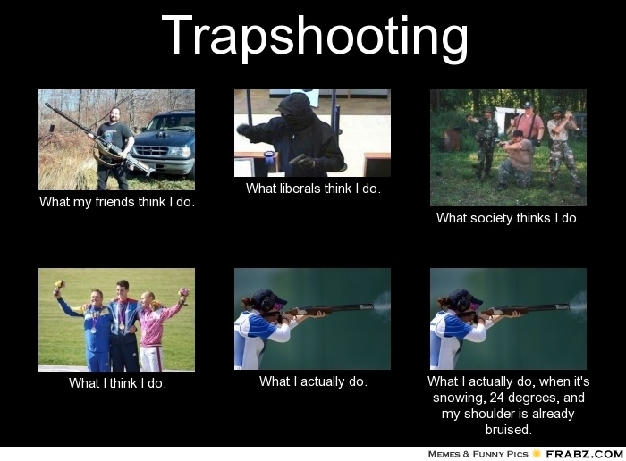 Real Trapshooting @Christina Childress & Crawford
