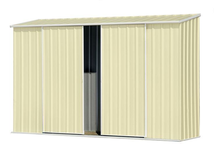 Shed Ezislider Dd Absco 3x0.78m C/cream Cc30082ek - Bunnings Warehouse