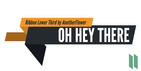 Ribbon Lower Thirds (Corporate)