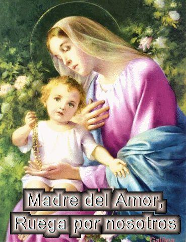 ACROSTICOS: V irgen Maria Reina Del Amor