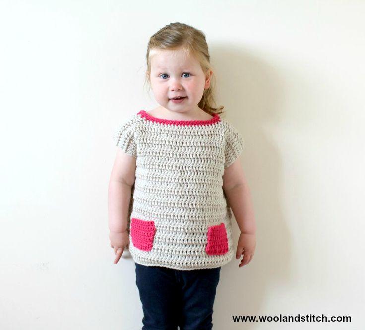 219 best Crochet Bebés images on Pinterest | Hand crafts, Crochet ...