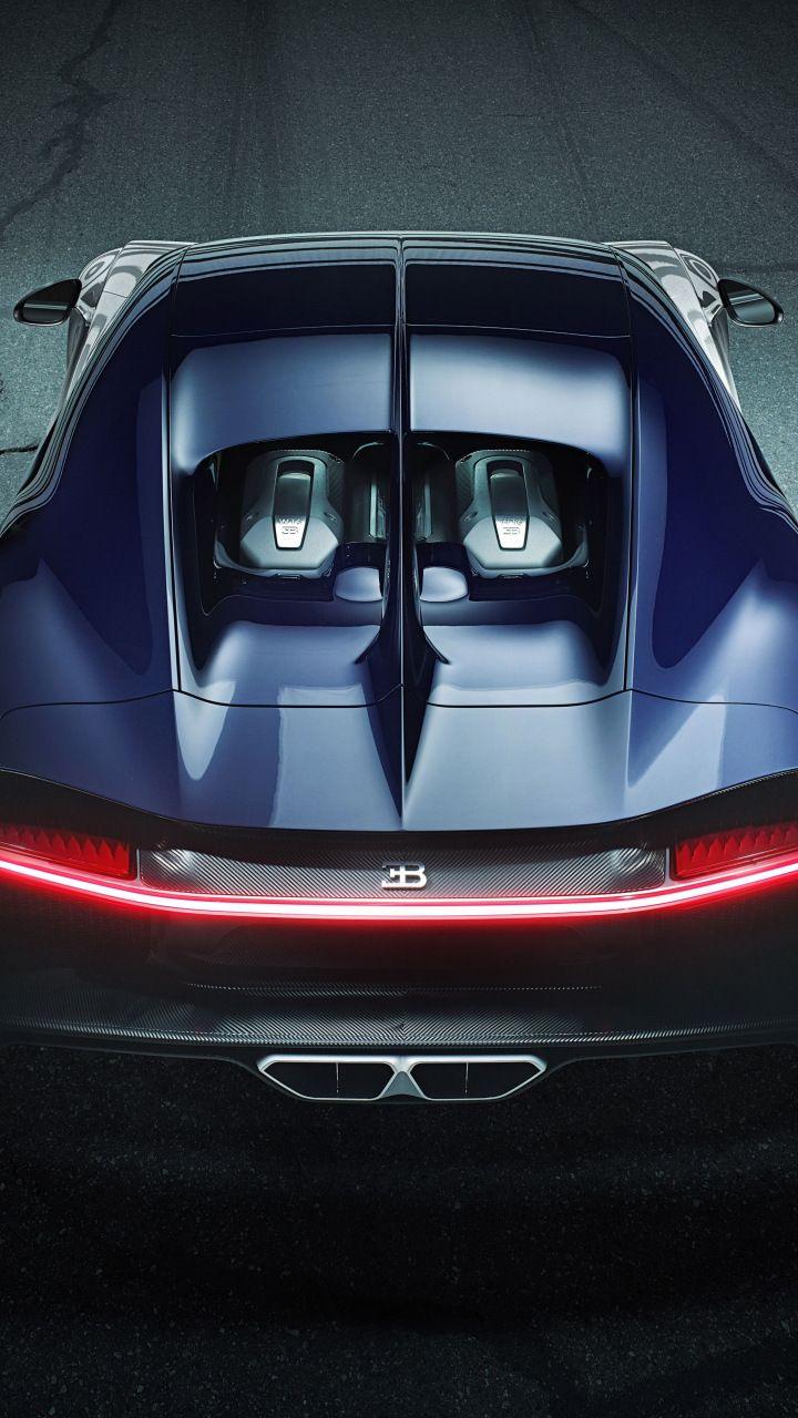 Bugatti Chiron Sport Tail Lights Sports Car 720x1280