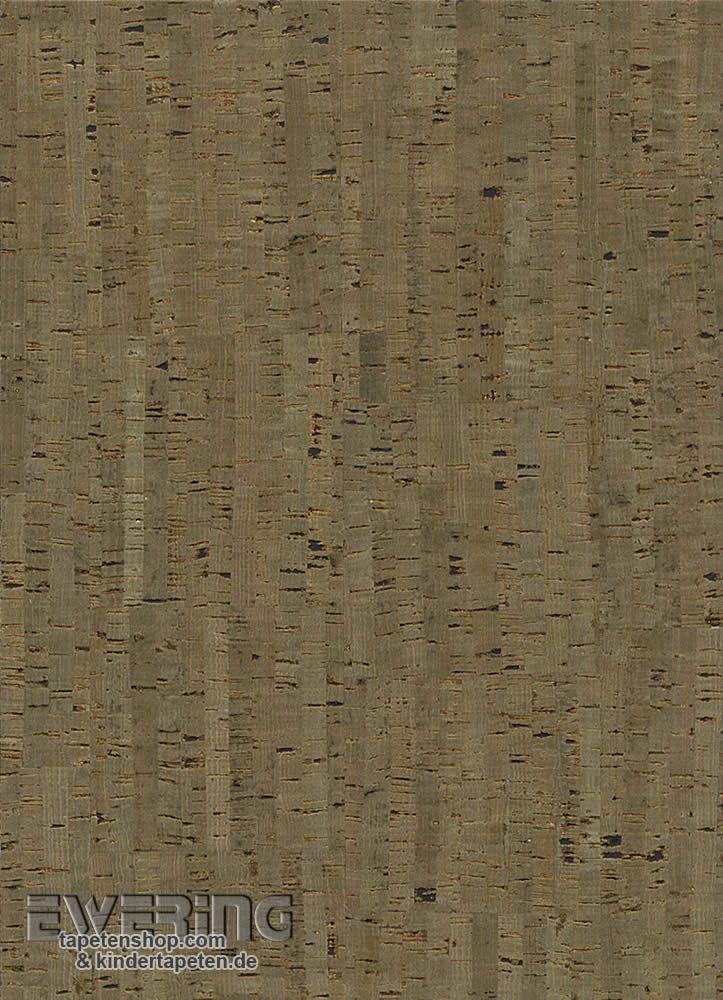 23-213743 Vista 5 Rasch Textil Kork-Tapete dunkel-grün Flur