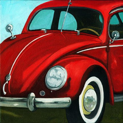 Classic 50's Red by Linda Apple