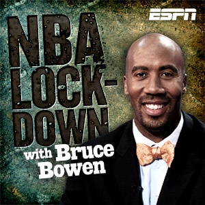 ESPN's NBA Lockdown with former #CSUF Bruce Bowen covers all of the latest news, rumors and opinion in the NBA alongside ESPN's team of experts.