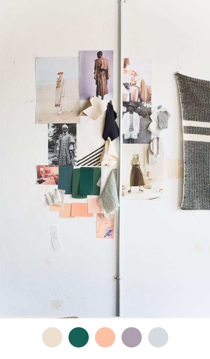 Caron Callahan Mood Board on Color Collective
