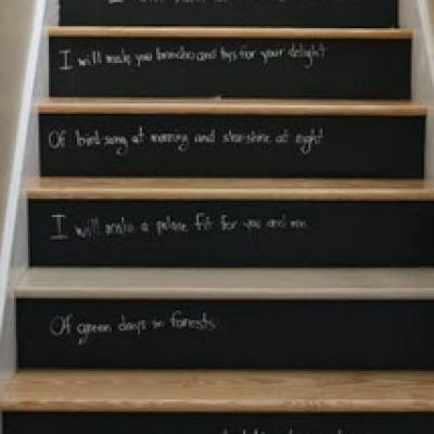Wednesdays with Handmade Charlotte: Unconventional DIY Chalkboard Paint Ideas | Paint Me Plaid