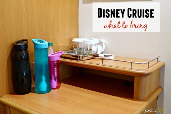 What to Pack for a Disney Cruise via @SoChicLife