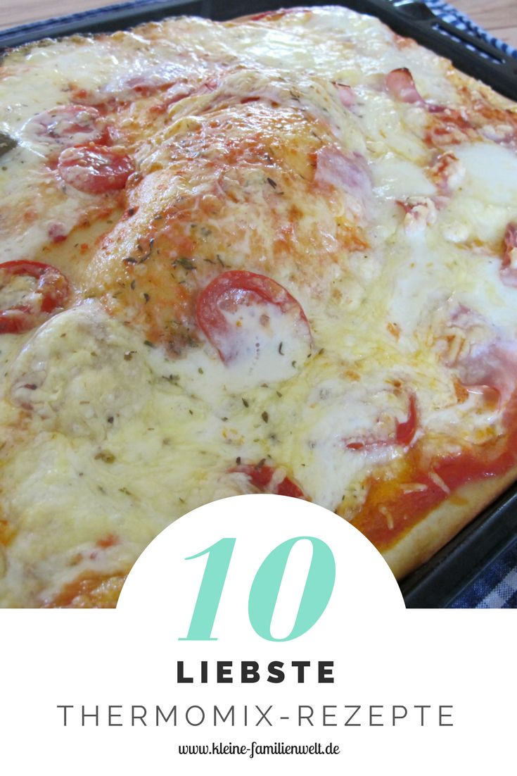 Das sind unsere 10 liebsten Rezepte aus dem Basis-Kochbuch von Thermomix. Mindestens einmal in der Woche kommen sie auf den Tisch. :-)