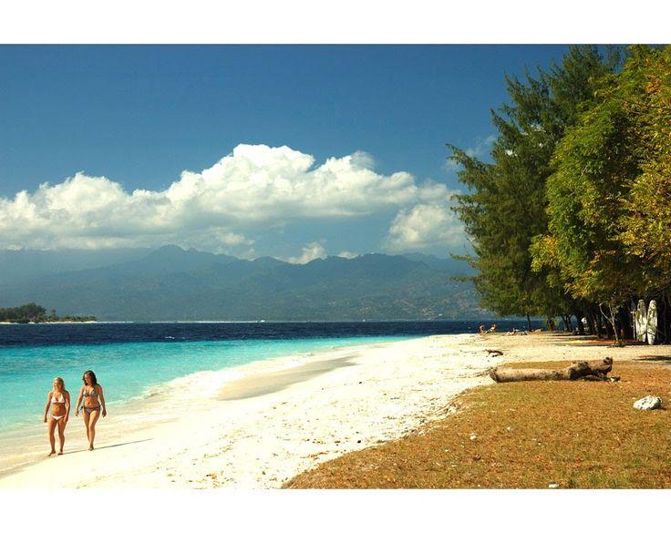Gili Trawangan ~ beautiful places to visit in Indonesia.