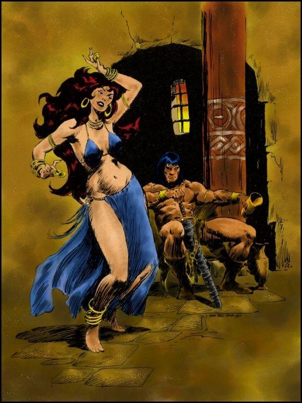 Conan the barbarian nude girls
