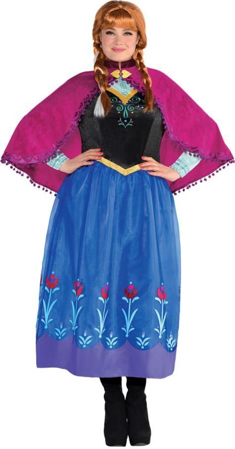 Adult Anna Costume Plus Size - Frozen - Party City