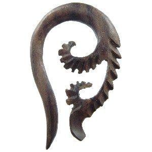Piercing Plug en bois exotique E - 06mm - Piercing abondance