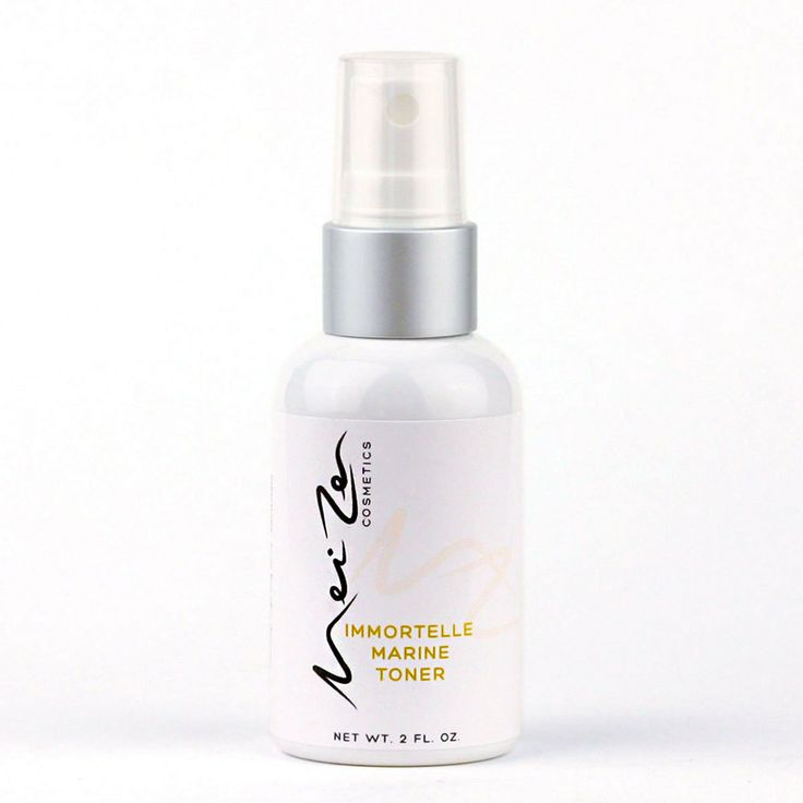 Immortelle Marine Toner - $22.00 It protects, hydrates, and prepares skin for the application of serums and creams containing active natural ingredients. http://www.meizencosmetics.com/immortelle-marine-toner/