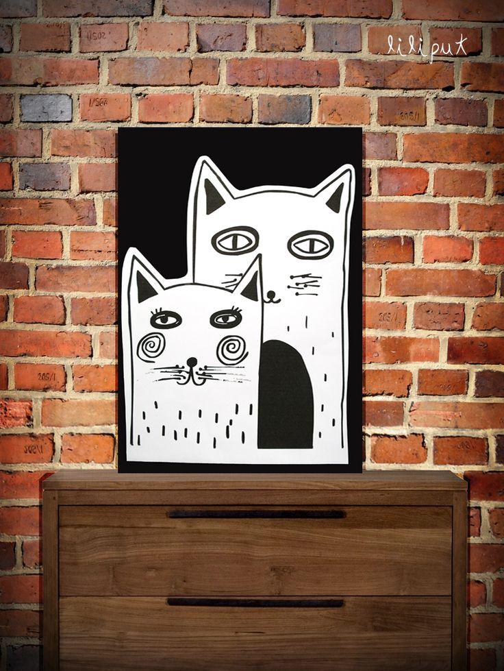 """Kolaż """"Kiti&Kat""""/ Collage """"Kiti & Cat"""""""