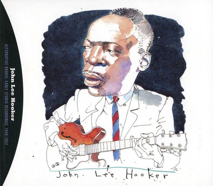 John Lee Hooker by Joe Ciardiello Capitol Blues Collection (1995)