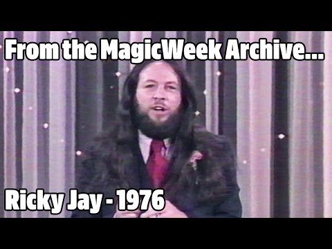 Ricky Jay - Magician - Doug Henning's World of Magic - 1976 - MagicWeek.co.uk - YouTube: Ricky Jay in a guest spot on Doug Henning's World of Magic from 1976. Card throwing and close-up magic. From The MagicWeek Video Archive http://www.magicweek.co.uk