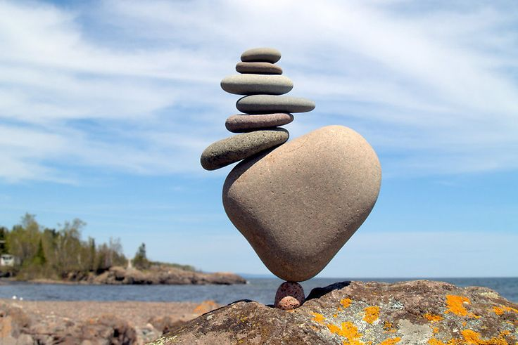 """Stack on Balance,"" rocks balanced by Peter Juhl"