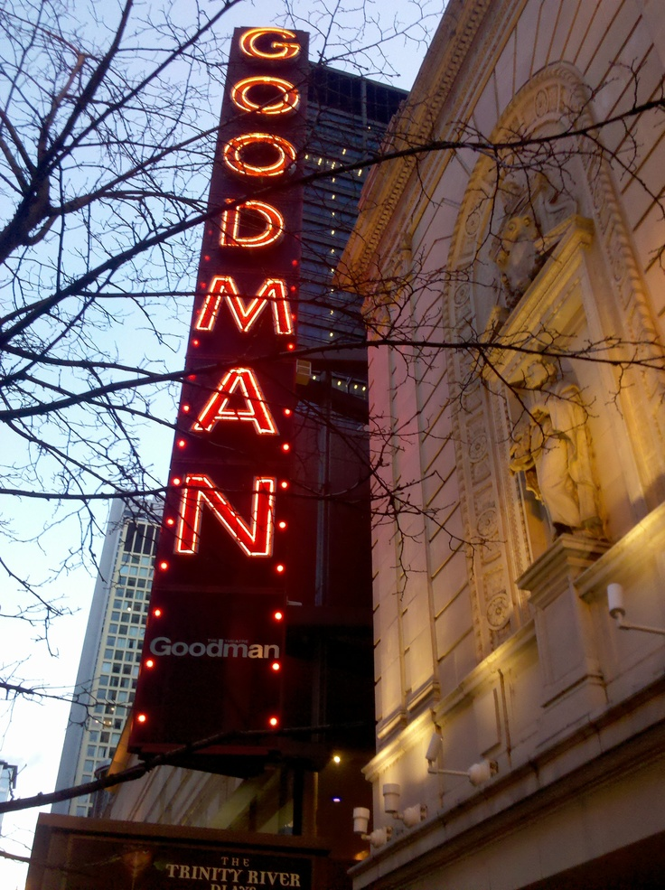 Goodman Theater in Chicago, IL.  Intriguing!