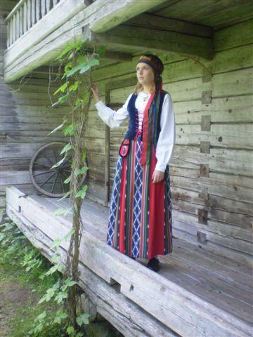Jurva folk dress, Finland