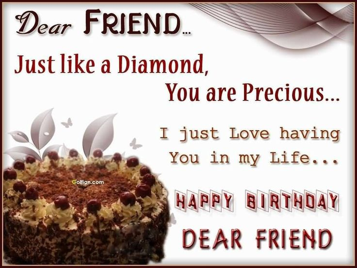 Happy birthday dear friend quotes related keywords and tags quotesgram 11 best happy birthday wishes images greeting cards m4hsunfo