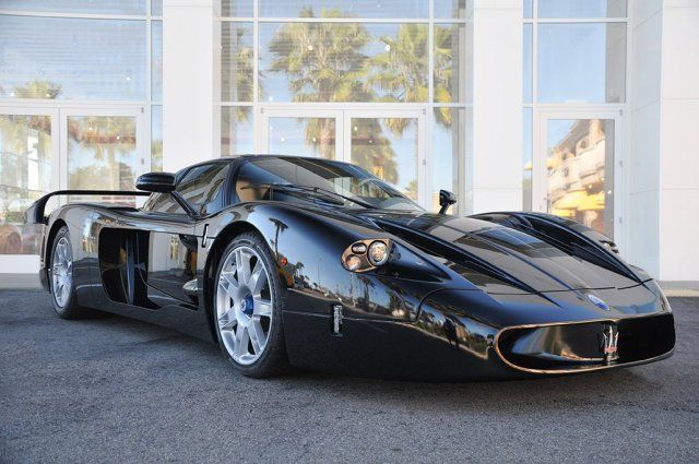 Maserati MC12 In Black Offered Up For Sale - Who's buyin'?