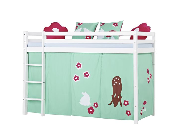 Basic Forest Midhigh bed by Hoppekids