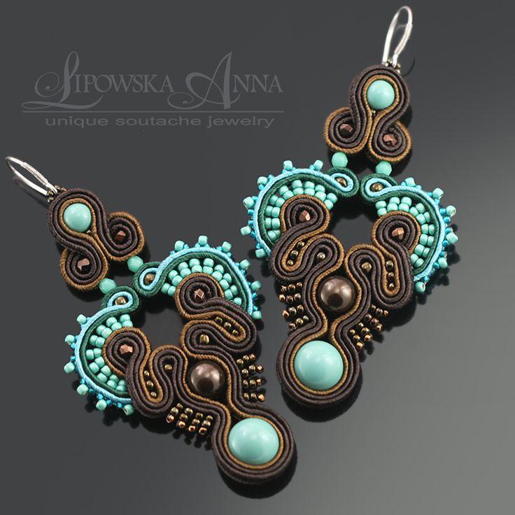 667  Anna Lipowska LiAnna Biżuteria sutasz   soutache  www.lianna.blox.pl