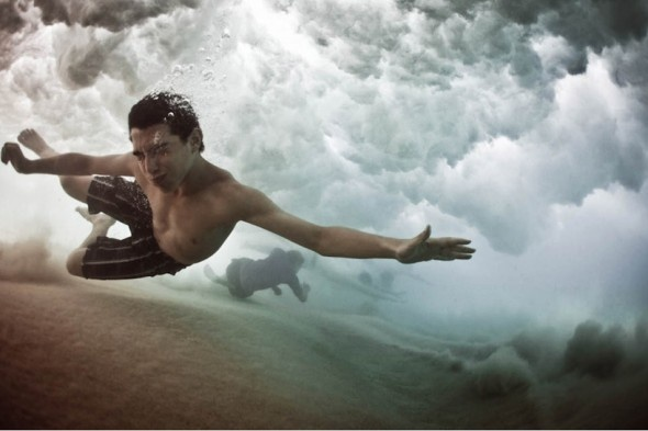 """Sydney-based photographer Mark Tipple captures a crushing sense of beauty with his new series """"The Underwater Project""""."""