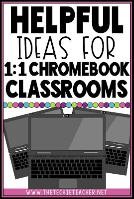 Has your classroom turned into a 1:1 Chromebook Classroom and you are unsure of …
