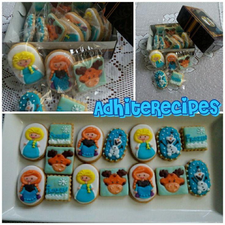 Frozen still girl favorite cookie
