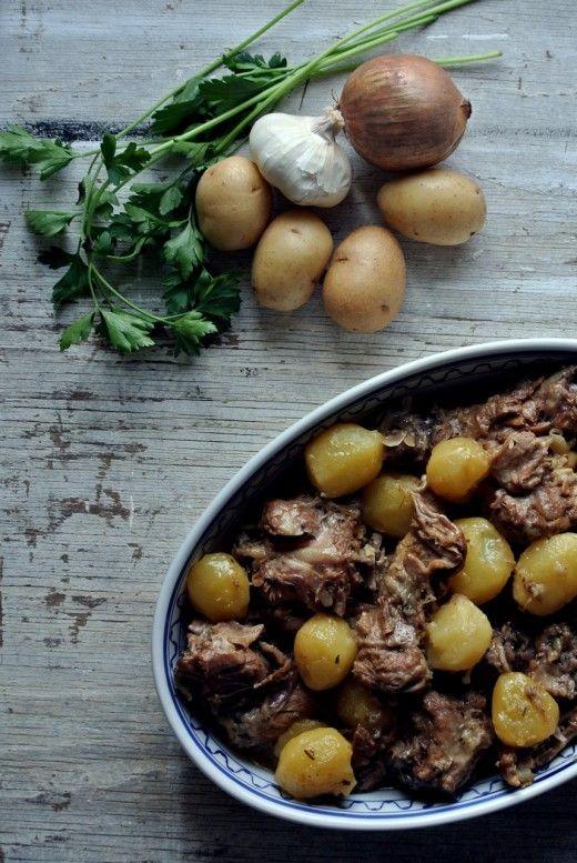 Lamb Stew Sicilian Style Sicilian Recipe Agneddu Aggrassatu ©Victoria Stan Photography @vicaincucina