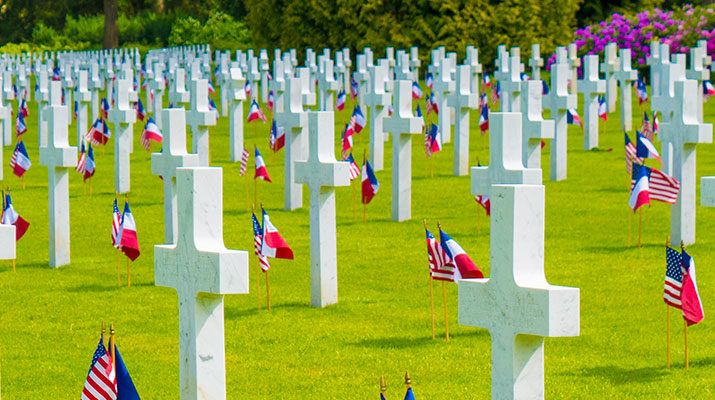 Aisne-Marne American Cemetery Memorial Day 2014 - MagoGuide's European Battlefield book would make a great gift for someone on Memorial Day