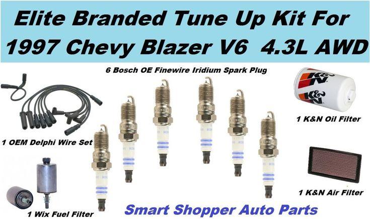 1997 Chevrolet Blazer V6 4.3L K&N Air Filter, Oil Filter, Wix Fuel Filter, Spark #AftermarketProducts