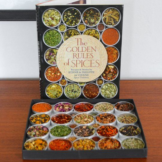 The Golden Rules of Spices by Ethné & Philippe de Vienne New Cookbook   The Kitchn