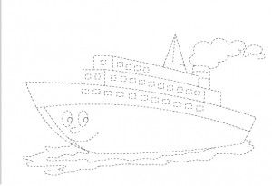 ship tracing worksheet
