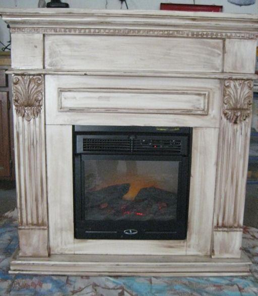 white glazed fireplace mantle ideaspaint