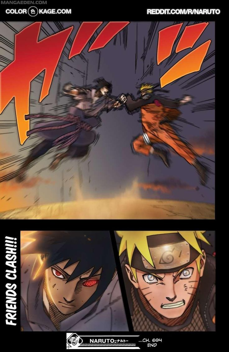 Naruto VS Sasuke Final battle