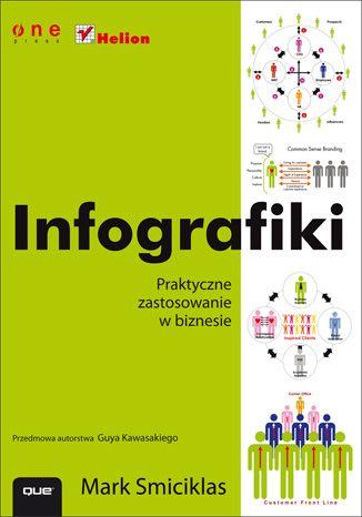 """""""Infografiki. Praktyczne zastosowanie w biznesie""""   #ksiazka #helion #infografika #infografiki #wizualizacja #prezentacje #grafika"""